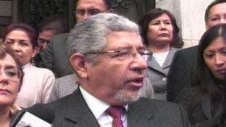 Jueces Superiores marchan a PCM por homologación de sueldos