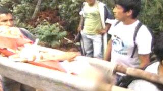 Tarapoto: continúa rescate de víctimas de alud en El Porvenir