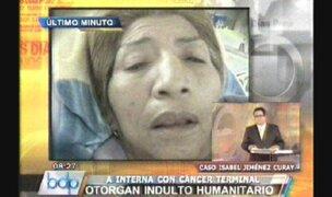 Ex reclusa indultada pide SIS para continuar con tratamiento