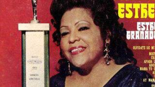 A los 86 años de edad falleció  cantante criolla Esther Granados