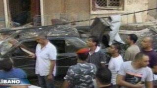 Líbano: atentado terrorista deja ocho personas muertas en Beirut