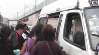 Usuarios perjudicados por transportistas que no respetan rutas