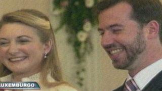 Príncipes de Luxemburgo se casaron en majestuosa ceremonia