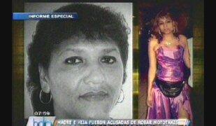 ¿Detenidas injustamente? Madre e hija fueron acusadas de robar mototaxis