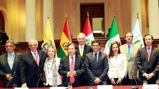 Expresidentes sudamericanos destacan crecimiento del Perú