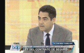 Jaime Becerra: Nueva Ley nivelará la cancha entre aseguradoras y usuarios