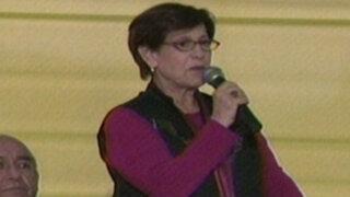 Susana Villarán: Movadef estuvo detrás de la violencia en La Parada