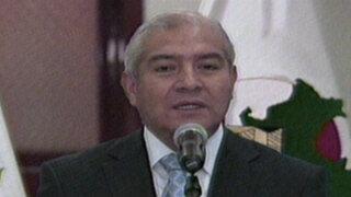 Ministro Pedraza denunció formalmente al fundador del Movadef