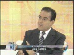 Luis Torres: Los líderes empresariales están comprometidos con el Perú