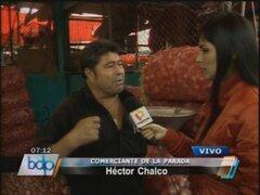 Comerciante de La Parada dice no cederán a capricho de Susana Villarán
