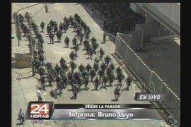La policía busca tomar el control de La Parada