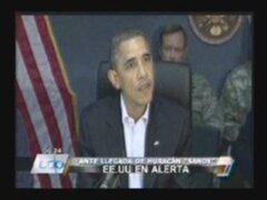 EE.UU.: 50 muertos y miles de viviendas destruidas deja a su paso el huracán Sandy