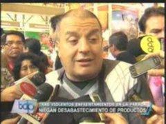 Ministro de Agricultura niega desabastecimiento de alimentos en Lima