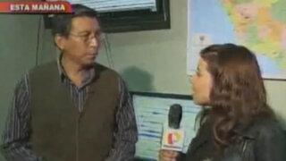 IGP afirma que todos los días se registran temblores en el Perú
