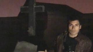 Terrorifica incursión nocturna al cementerio Presbítero Maestro