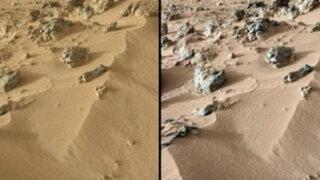 Curiosity: robot de la Nasa que investiga Marte prueba que suelo es parecido al de Hawai