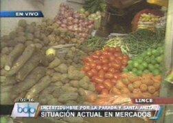 Precio de alimentos se disparan en mercados por traslado de La Parada