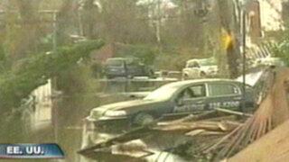 EEUU: Nueva Jersey inundada y Nueva York sin luz por huracán 'Sandy'