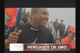 Los peruanos de oro en los Bolivarianos de playa