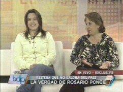 Rosario Ponce: No tengo visa a ningún país y no pienso fugar del Perú