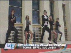 """PSY puso a danzar a los franceses al ritmo del """"Baile del Caballo"""""""