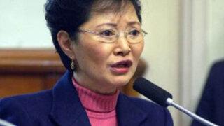 Susana Higuchi fue operada tras sufrir múltiples fracturas