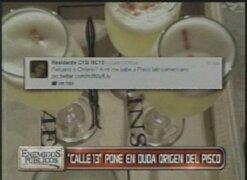 Desafortunado tuit de Calle 13 pone en duda origen del Pisco