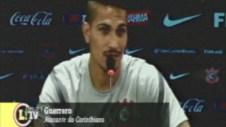 Paolo Guerrero: Corinthians está preparado para vencer al Tijuana