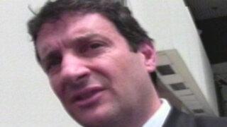 Empresario Luis Llanos denuncia extorsión y Reggiardo lo apoya