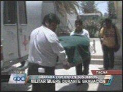 Militar peruano muere durante filmación de película sobre Guerra del Pacífico