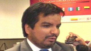 Alexis Humala denuncia a procurador Arbizú por caso Krasny