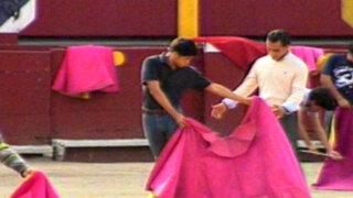 Torero Iván Fandiño dio clase magistral a jóvenes en Plaza de Acho