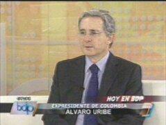 Uribe: El Estado no debe permitir que el terrorismo se mezcle con la política