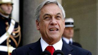 Presidente Piñera: Soberanía no se negocia por intereses económicos