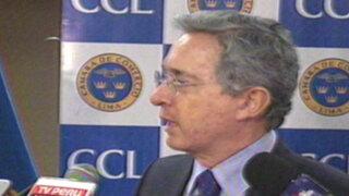 Uribe propone desconocer fallo de La Haya para Colombia y Nicaragua