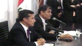Presidentes de Perú y Ecuador se reúnen en VI Gabinete Binacional