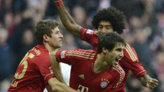 Bundesliga: el Bayern de Munich goleó al Hannover y es líder absoluto de su liga