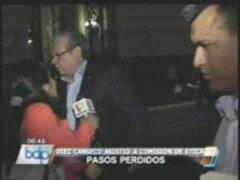 Legislador Castagnino  agredió a reportera en el Congreso