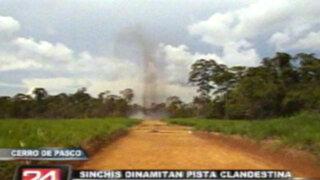 'Sinchis' destruyeron pista de aterrizaje clandestina utilizada por narcotráfico