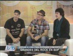 Grandes cantantes de rock en español se presentarán en el María Angola
