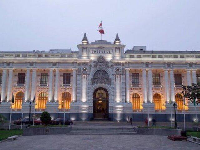 Parlamento no llegó a un acuerdo para elegir a miembros del TC y Defensoría