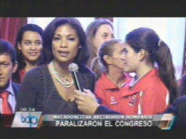 """Congresista Cecilia Tait pidió casas y apoyo económico para """"matadorcitas"""""""