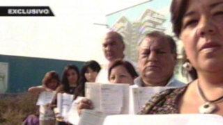 Estafa a la española: inmobiliaria deja sin casa a familias en Surco