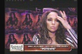 Erika Villalobos lanza disco