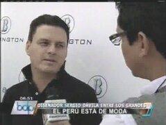 Sergio Dávila: El Perú está de moda y es el sueño americano