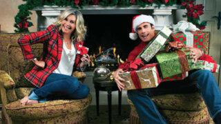 John Travolta y Olivia Newton-John vuelven a cantar juntos por Navidad