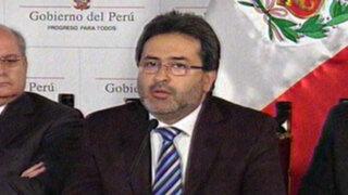 Juan Jiménez: ministros ganan 15 mil 600 soles y no 30 mil