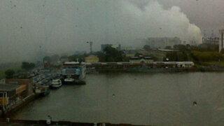 Autoridades argentinas evacúan puerto de Buenos Aires por nube tóxica
