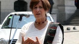 Cercado de Lima: Susana Villarán participa en mitin contra revocatoria
