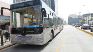 Protransporte anunció que este lunes se iniciará el expreso 5 del metropolitano